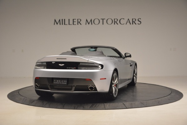 Used 2015 Aston Martin V12 Vantage S Roadster for sale Sold at Alfa Romeo of Greenwich in Greenwich CT 06830 7