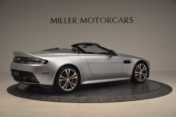 Used 2015 Aston Martin V12 Vantage S Roadster for sale Sold at Alfa Romeo of Greenwich in Greenwich CT 06830 8