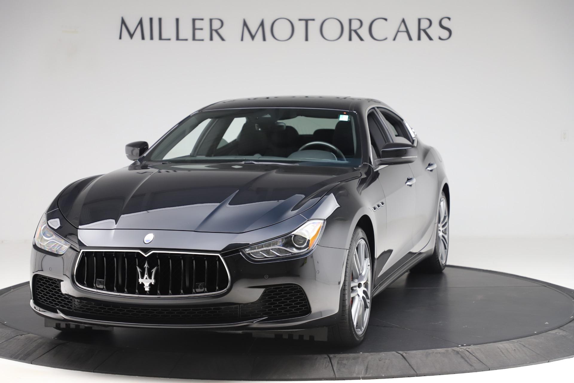 Used 2017 Maserati Ghibli S Q4 for sale Sold at Alfa Romeo of Greenwich in Greenwich CT 06830 1