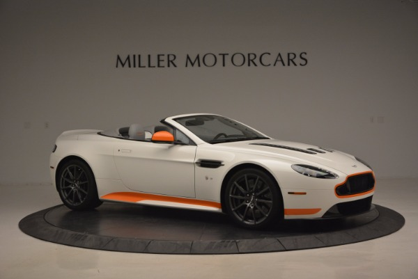 Used 2017 Aston Martin V12 Vantage S Convertible for sale Sold at Alfa Romeo of Greenwich in Greenwich CT 06830 10