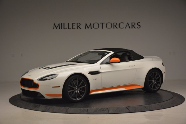Used 2017 Aston Martin V12 Vantage S Convertible for sale Sold at Alfa Romeo of Greenwich in Greenwich CT 06830 14