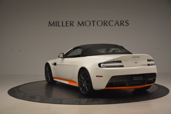 Used 2017 Aston Martin V12 Vantage S Convertible for sale Sold at Alfa Romeo of Greenwich in Greenwich CT 06830 17