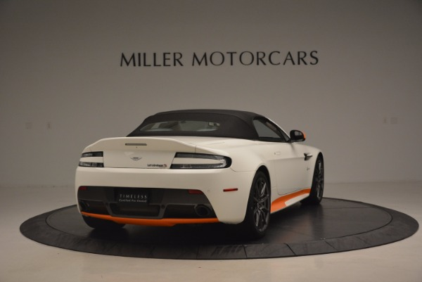 Used 2017 Aston Martin V12 Vantage S Convertible for sale Sold at Alfa Romeo of Greenwich in Greenwich CT 06830 19