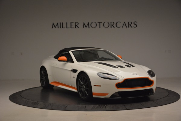 Used 2017 Aston Martin V12 Vantage S Convertible for sale Sold at Alfa Romeo of Greenwich in Greenwich CT 06830 23