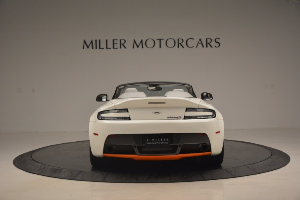 Used 2017 Aston Martin V12 Vantage S Convertible for sale Sold at Alfa Romeo of Greenwich in Greenwich CT 06830 6