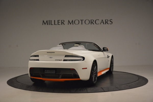 Used 2017 Aston Martin V12 Vantage S Convertible for sale Sold at Alfa Romeo of Greenwich in Greenwich CT 06830 7