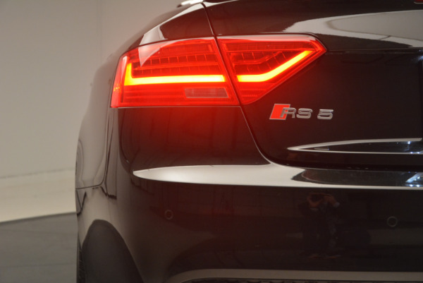 Used 2014 Audi RS 5 quattro for sale Sold at Alfa Romeo of Greenwich in Greenwich CT 06830 26