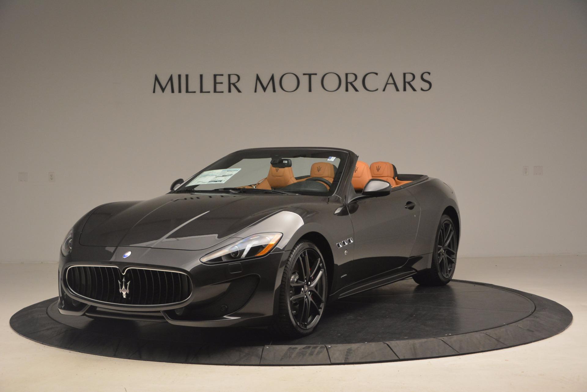 New 2017 Maserati GranTurismo Sport for sale Sold at Alfa Romeo of Greenwich in Greenwich CT 06830 1