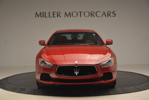 Used 2014 Maserati Ghibli S Q4 for sale Sold at Alfa Romeo of Greenwich in Greenwich CT 06830 12