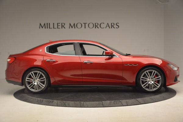 Used 2014 Maserati Ghibli S Q4 for sale Sold at Alfa Romeo of Greenwich in Greenwich CT 06830 9