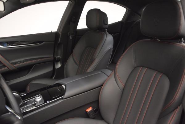 Used 2017 Maserati Ghibli SQ4 S Q4 Ex-Loaner for sale Sold at Alfa Romeo of Greenwich in Greenwich CT 06830 15