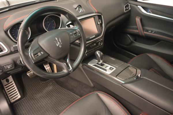 Used 2015 Maserati Ghibli S Q4 for sale Sold at Alfa Romeo of Greenwich in Greenwich CT 06830 12