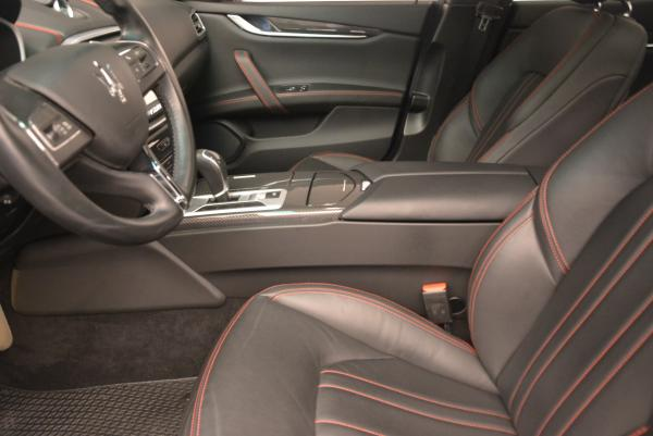 Used 2015 Maserati Ghibli S Q4 for sale Sold at Alfa Romeo of Greenwich in Greenwich CT 06830 13