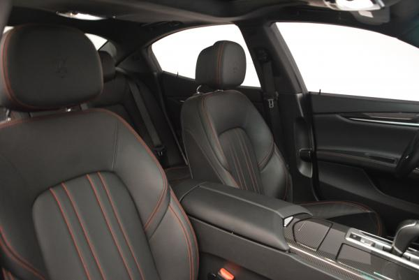 Used 2015 Maserati Ghibli S Q4 for sale Sold at Alfa Romeo of Greenwich in Greenwich CT 06830 20