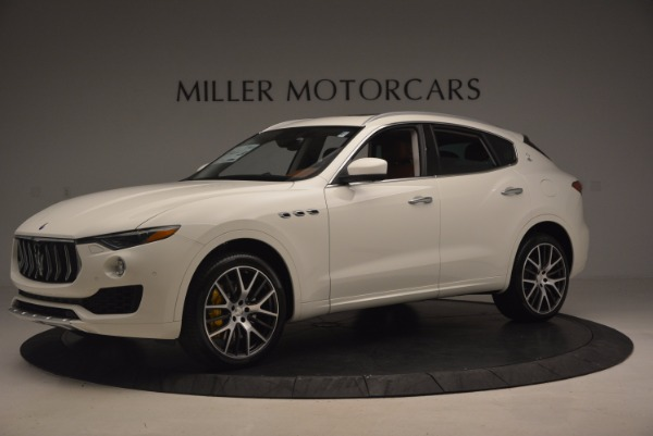 New 2017 Maserati Levante S for sale Sold at Alfa Romeo of Greenwich in Greenwich CT 06830 2