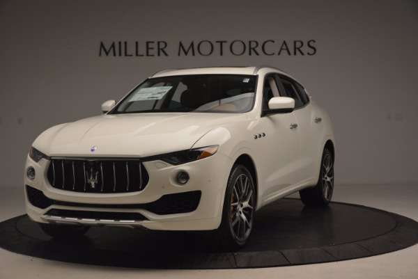 New 2017 Maserati Levante S for sale Sold at Alfa Romeo of Greenwich in Greenwich CT 06830 1
