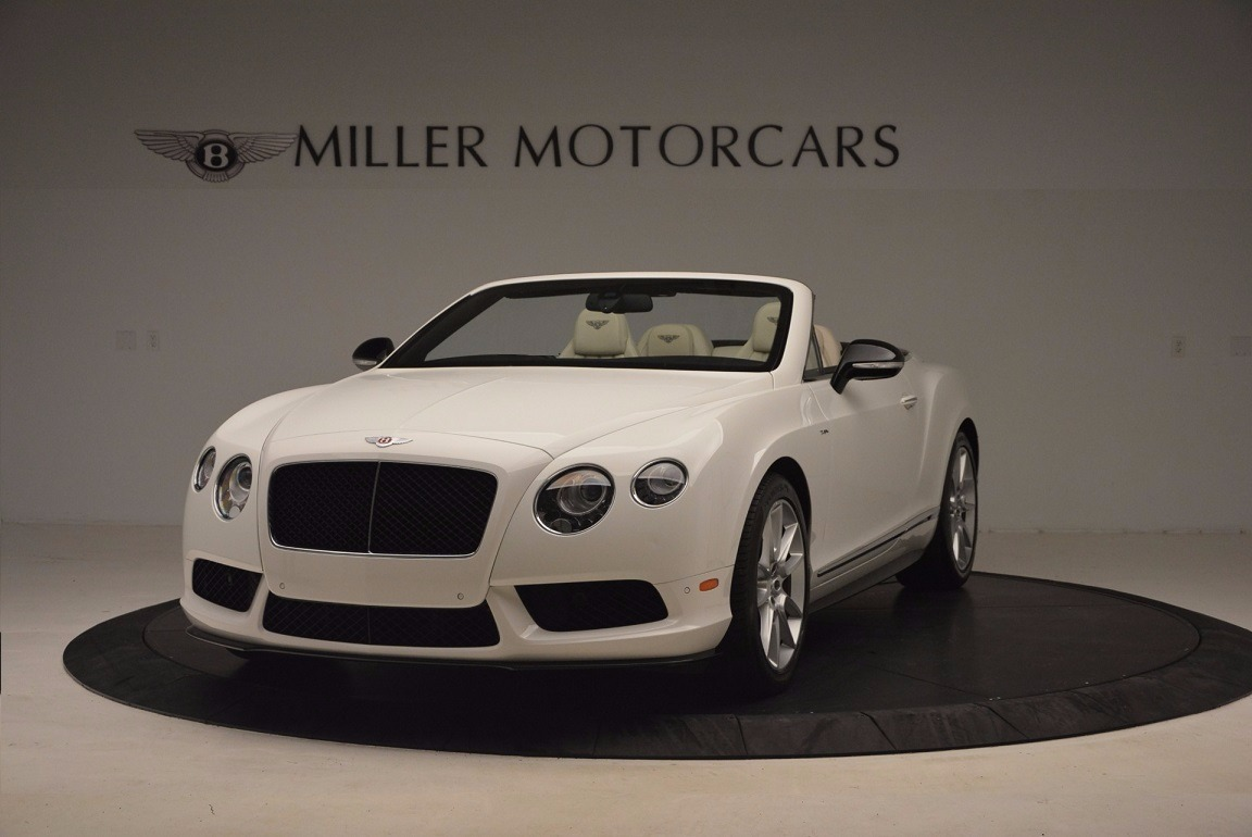 Used 2015 Bentley Continental GT V8 S for sale Sold at Alfa Romeo of Greenwich in Greenwich CT 06830 1