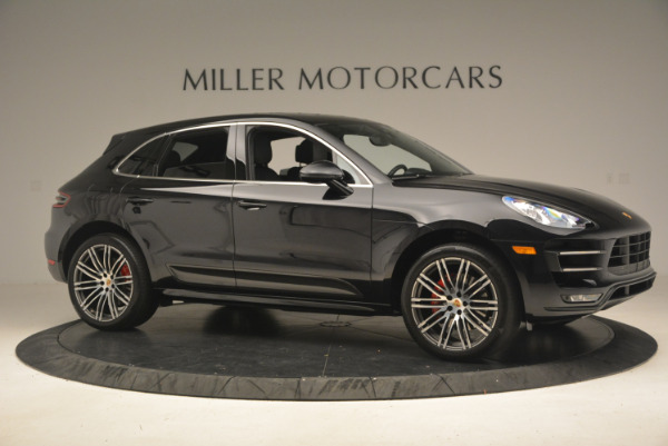 Used 2016 Porsche Macan Turbo for sale Sold at Alfa Romeo of Greenwich in Greenwich CT 06830 10