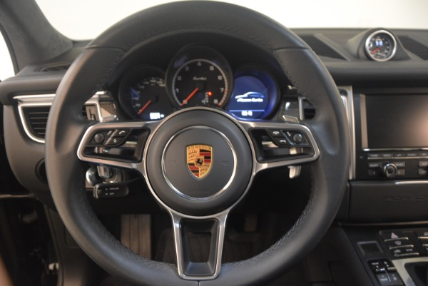 Used 2016 Porsche Macan Turbo for sale Sold at Alfa Romeo of Greenwich in Greenwich CT 06830 18