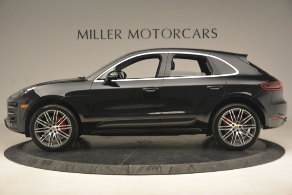 Used 2016 Porsche Macan Turbo for sale Sold at Alfa Romeo of Greenwich in Greenwich CT 06830 3