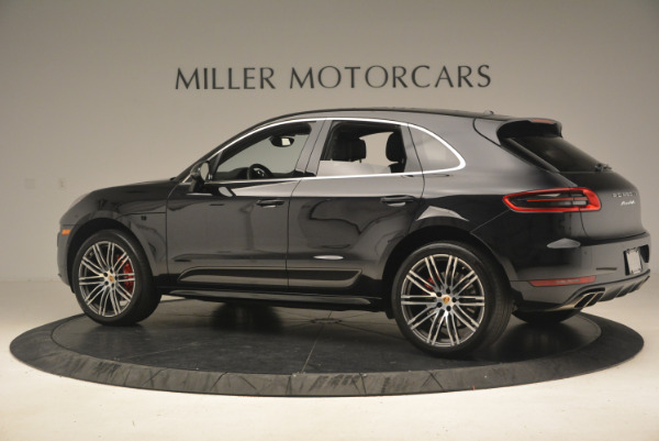 Used 2016 Porsche Macan Turbo for sale Sold at Alfa Romeo of Greenwich in Greenwich CT 06830 4