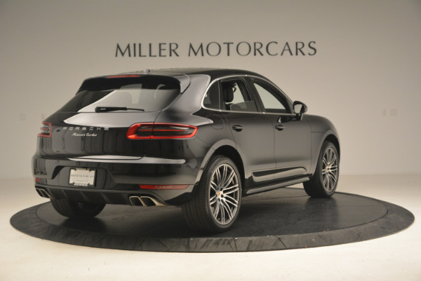 Used 2016 Porsche Macan Turbo for sale Sold at Alfa Romeo of Greenwich in Greenwich CT 06830 7