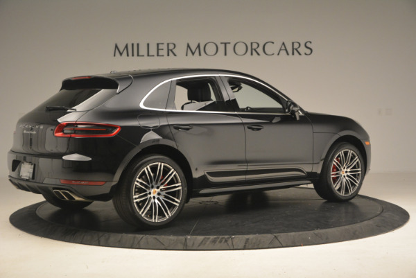 Used 2016 Porsche Macan Turbo for sale Sold at Alfa Romeo of Greenwich in Greenwich CT 06830 8