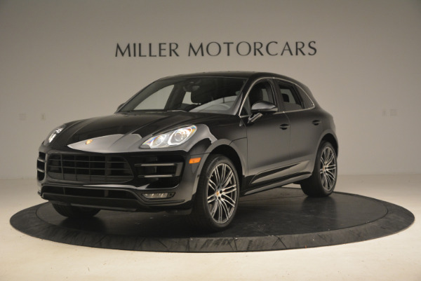 Used 2016 Porsche Macan Turbo for sale Sold at Alfa Romeo of Greenwich in Greenwich CT 06830 1