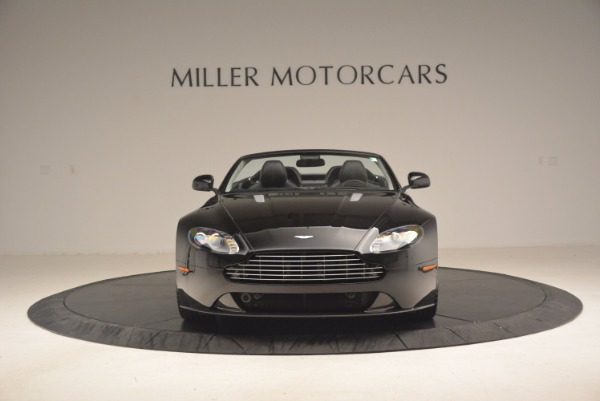 Used 2012 Aston Martin V8 Vantage S Roadster for sale Sold at Alfa Romeo of Greenwich in Greenwich CT 06830 12