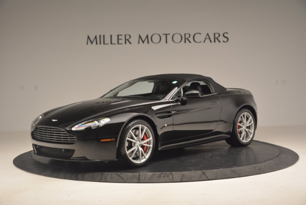 Used 2012 Aston Martin V8 Vantage S Roadster for sale Sold at Alfa Romeo of Greenwich in Greenwich CT 06830 14