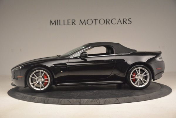 Used 2012 Aston Martin V8 Vantage S Roadster for sale Sold at Alfa Romeo of Greenwich in Greenwich CT 06830 15