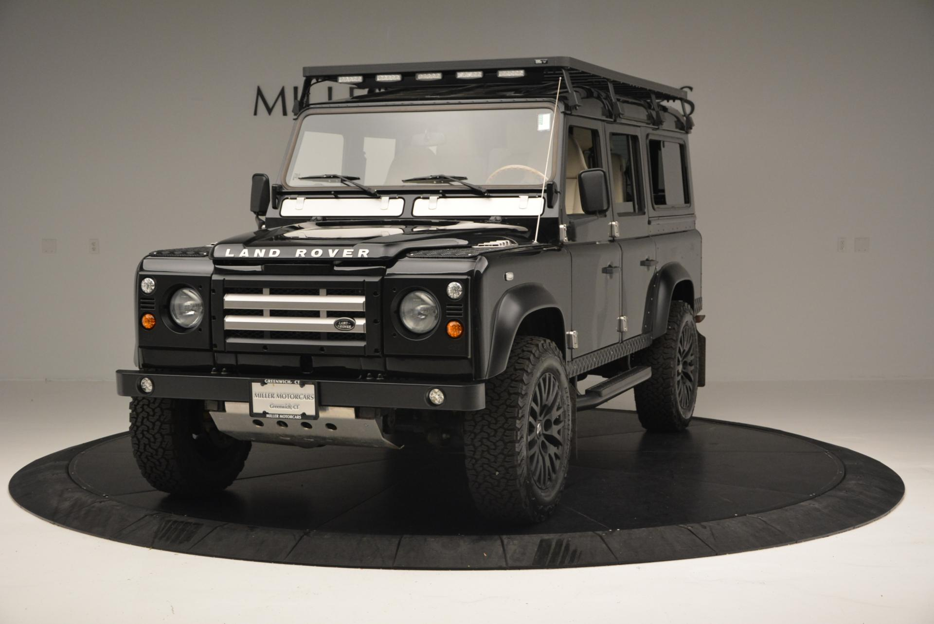 Used 1985 LAND ROVER Defender 110 for sale Sold at Alfa Romeo of Greenwich in Greenwich CT 06830 1