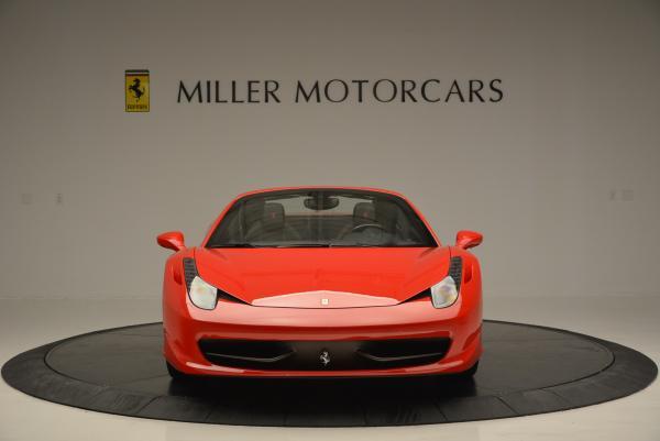 Used 2014 Ferrari 458 Spider for sale Sold at Alfa Romeo of Greenwich in Greenwich CT 06830 12