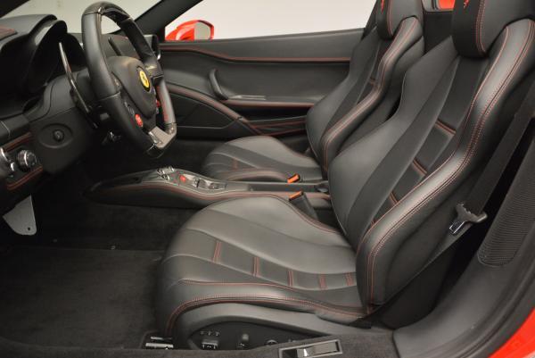 Used 2014 Ferrari 458 Spider for sale Sold at Alfa Romeo of Greenwich in Greenwich CT 06830 26