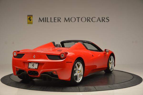 Used 2014 Ferrari 458 Spider for sale Sold at Alfa Romeo of Greenwich in Greenwich CT 06830 7