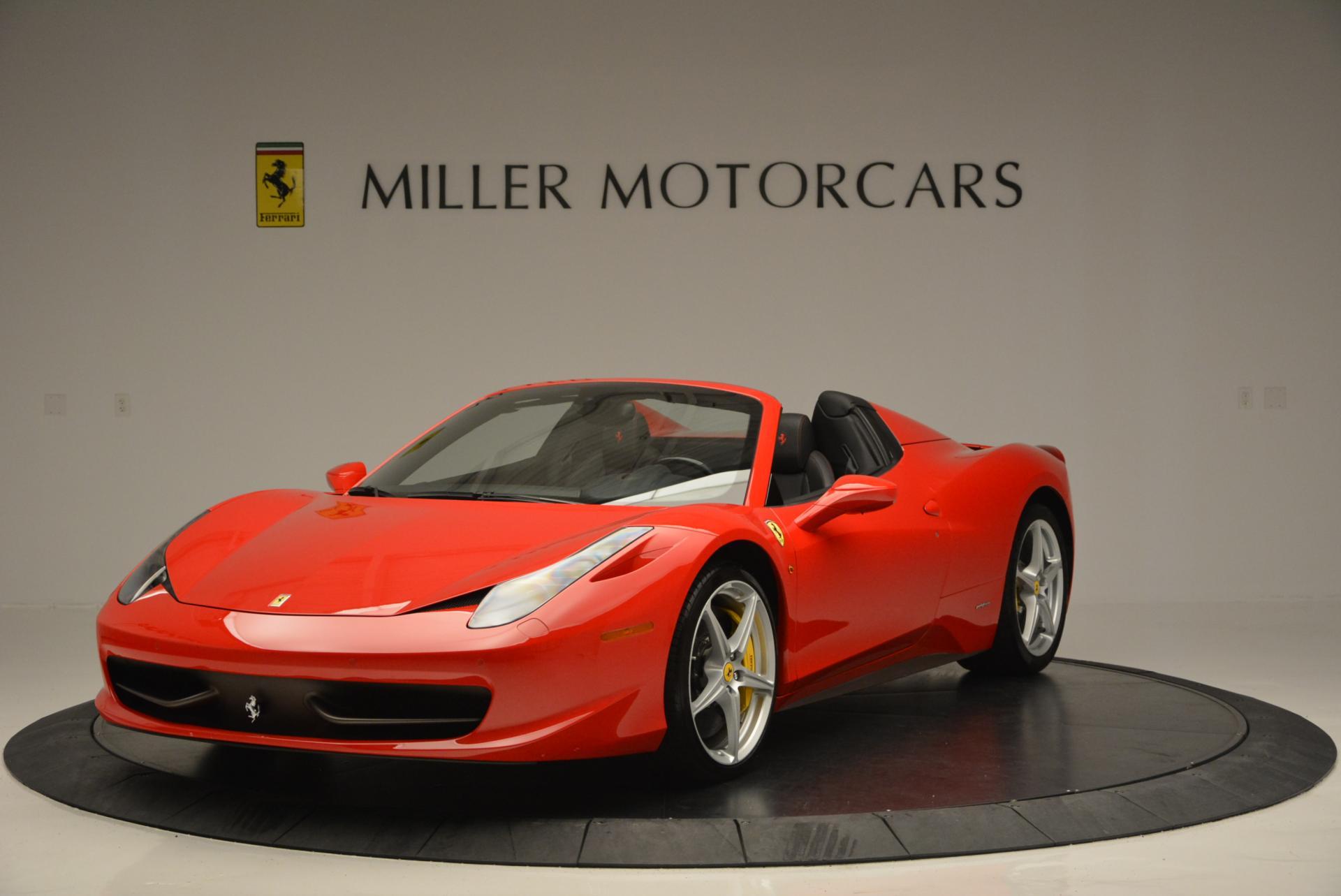 Used 2014 Ferrari 458 Spider for sale Sold at Alfa Romeo of Greenwich in Greenwich CT 06830 1
