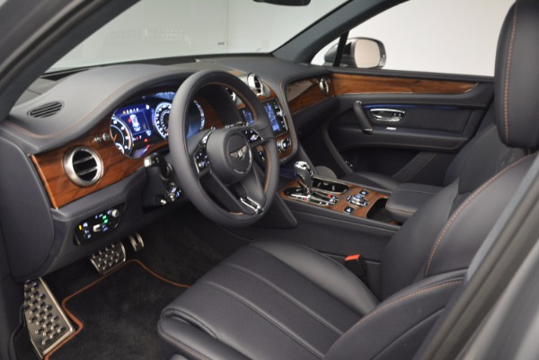 New 2018 Bentley Bentayga Onyx for sale Sold at Alfa Romeo of Greenwich in Greenwich CT 06830 25