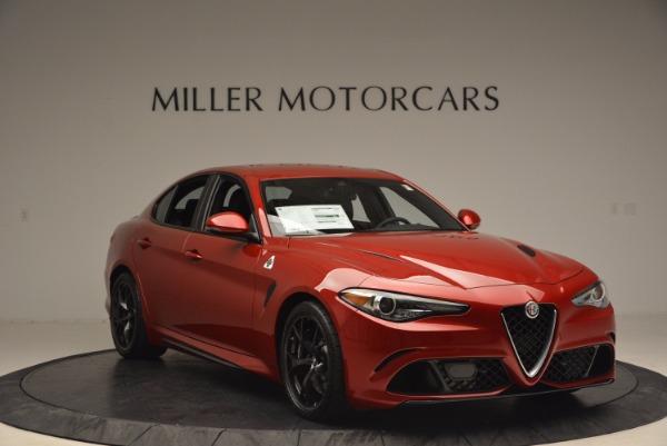 New 2017 Alfa Romeo Giulia Quadrifoglio Quadrifoglio for sale Sold at Alfa Romeo of Greenwich in Greenwich CT 06830 11