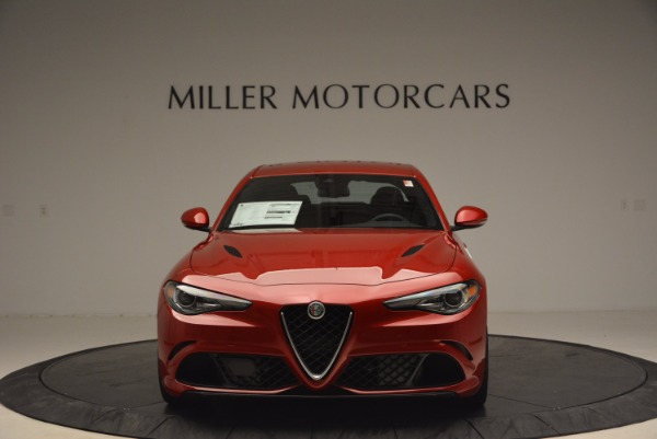 New 2017 Alfa Romeo Giulia Quadrifoglio Quadrifoglio for sale Sold at Alfa Romeo of Greenwich in Greenwich CT 06830 12