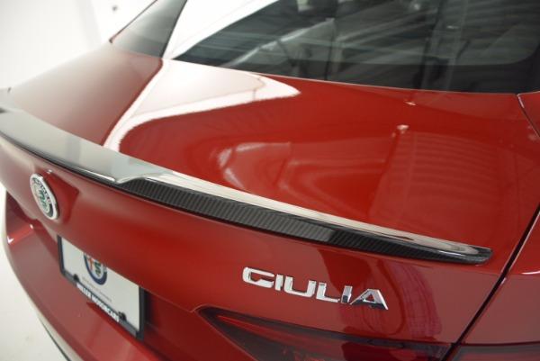 New 2017 Alfa Romeo Giulia Quadrifoglio Quadrifoglio for sale Sold at Alfa Romeo of Greenwich in Greenwich CT 06830 27