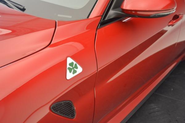 New 2017 Alfa Romeo Giulia Quadrifoglio Quadrifoglio for sale Sold at Alfa Romeo of Greenwich in Greenwich CT 06830 28