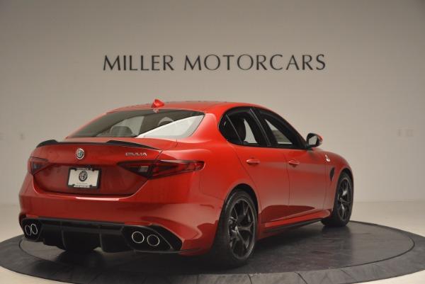 New 2017 Alfa Romeo Giulia Quadrifoglio Quadrifoglio for sale Sold at Alfa Romeo of Greenwich in Greenwich CT 06830 7