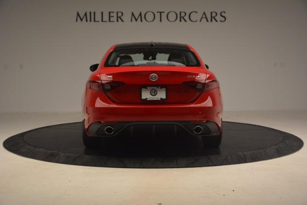 New 2017 Alfa Romeo Giulia Ti Sport Q4 for sale Sold at Alfa Romeo of Greenwich in Greenwich CT 06830 5