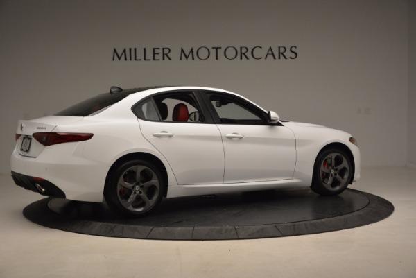 New 2017 Alfa Romeo Giulia Q4 for sale Sold at Alfa Romeo of Greenwich in Greenwich CT 06830 10