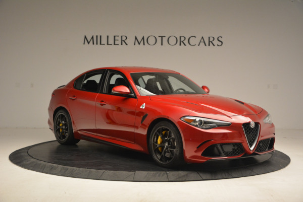 Used 2017 Alfa Romeo Giulia Quadrifoglio for sale Sold at Alfa Romeo of Greenwich in Greenwich CT 06830 11