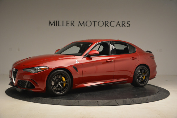 Used 2017 Alfa Romeo Giulia Quadrifoglio for sale Sold at Alfa Romeo of Greenwich in Greenwich CT 06830 2