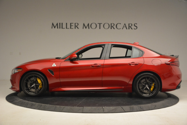 Used 2017 Alfa Romeo Giulia Quadrifoglio for sale Sold at Alfa Romeo of Greenwich in Greenwich CT 06830 3