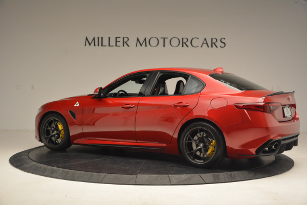 Used 2017 Alfa Romeo Giulia Quadrifoglio for sale Sold at Alfa Romeo of Greenwich in Greenwich CT 06830 4