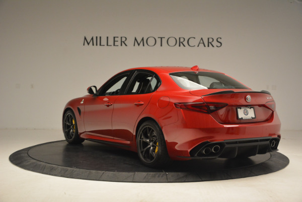 Used 2017 Alfa Romeo Giulia Quadrifoglio for sale Sold at Alfa Romeo of Greenwich in Greenwich CT 06830 5