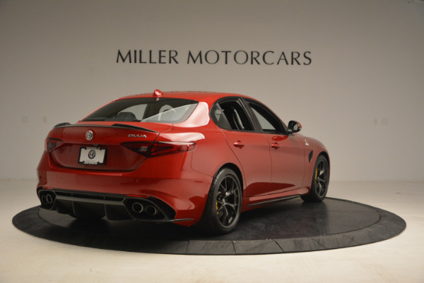Used 2017 Alfa Romeo Giulia Quadrifoglio for sale Sold at Alfa Romeo of Greenwich in Greenwich CT 06830 7